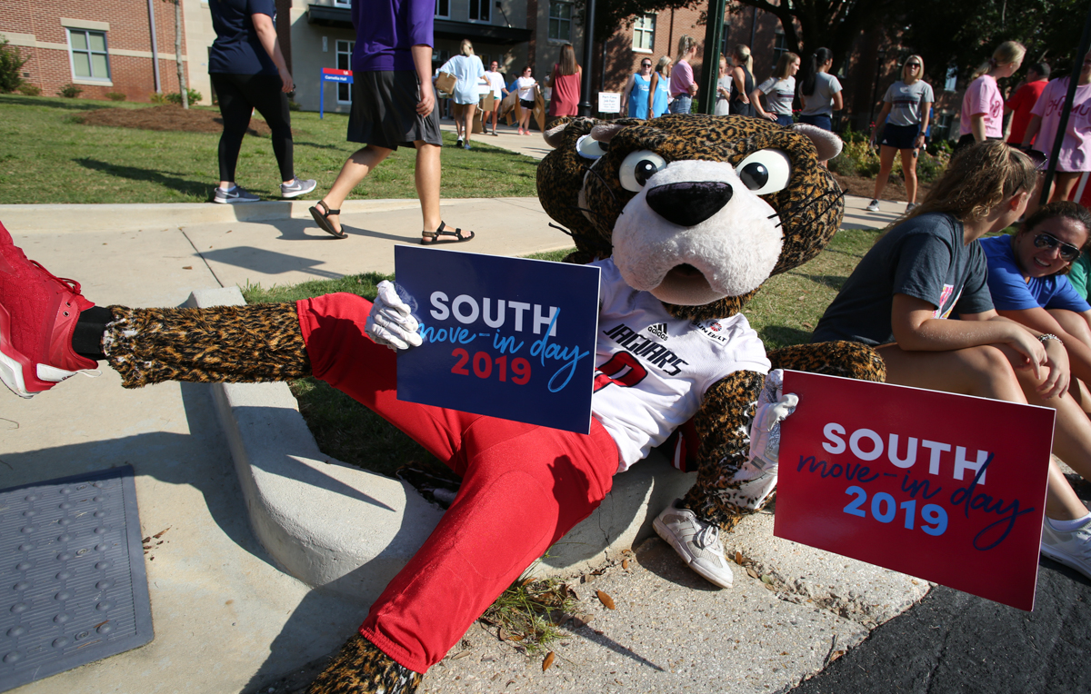 "Move-in Day at South kicks off ""Week of Welcome…and Beyond,"" two weeks of special events such as First Night, Convocation, Get on Board Day and the Block Party that highlight South's campus community."