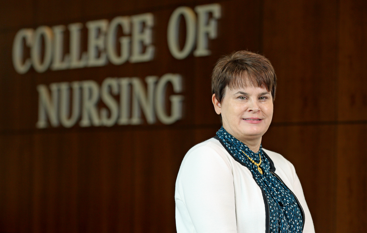 Dr. Kimberly Williams, associate professor of nursing at the University of South Alabama, is the project director for a $1.3 million grant from the U.S. Health Resources and Services Administration to help address opioid and substance abuse.