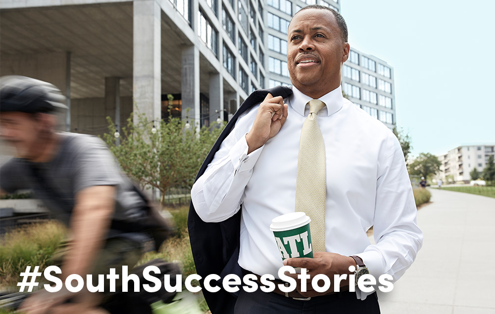 University of South Alabama alumnus and Atlanta BeltLine CEO Clyde Higgs has spent his life's work at the intersection of private and public sectors, or, as he says,