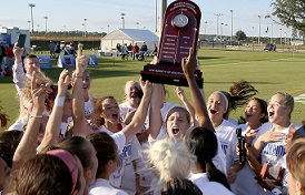 The University of South Alabama Jaguars are the Sun Belt Conference Women's Soccer Tournament champions after a 5-1 win over Arkansas State.