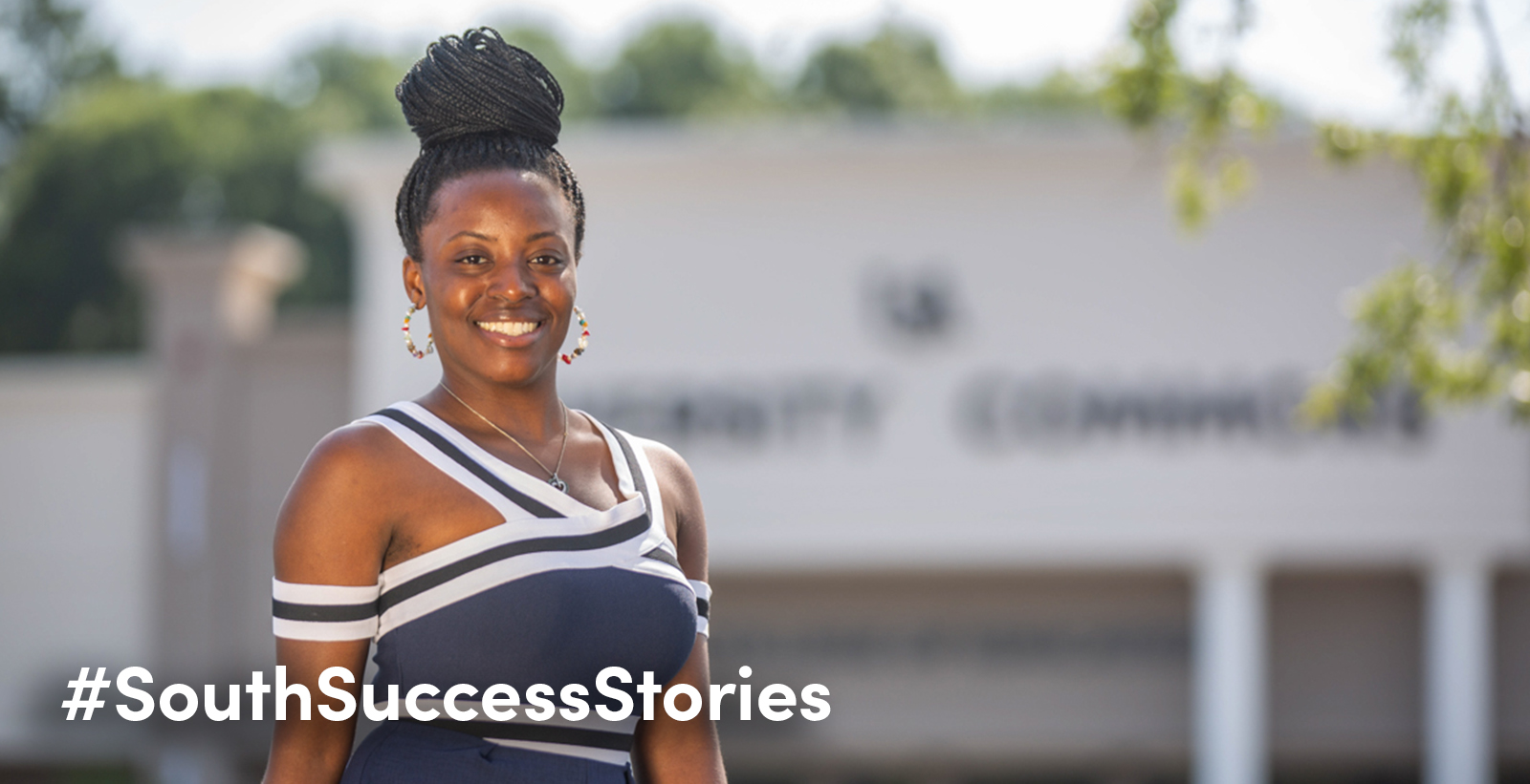 South Alabama alumna Tiffany Whitfield started the Tiffany Whitfield Scholarship for Undergraduate Students to help others pursue a degree at South. Whitfield teaches at the American Creativity Academy for Boys in Kuwait.