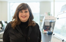 "Dr. Miranda Byrne-Steele, at her iRepertoire lab in Huntsville, leads a team of team of researchers exploring coronavirus therapies. ""It's taken years and years of experience and technology development, and we're applying it in a rapid way,"" she said."
