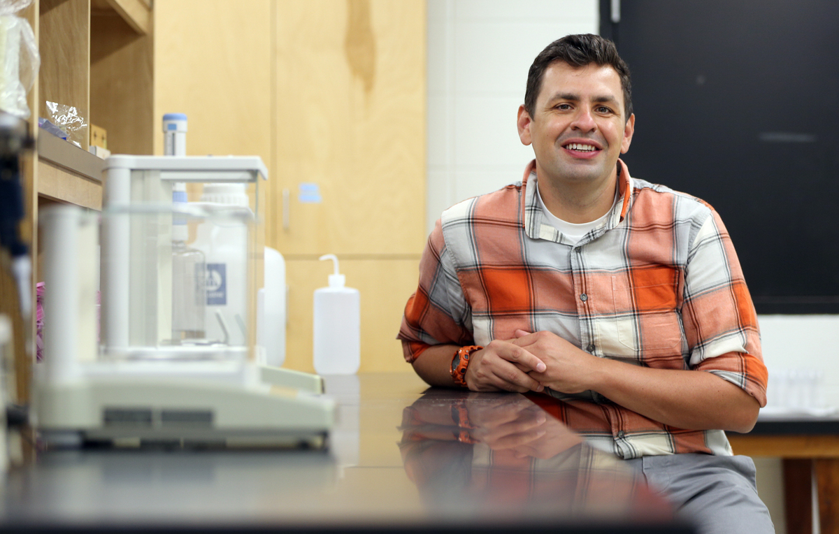 Dr. Jeremiah Henning, an assistant professor of biology, has secured a two-year, $348,000 grant from the National Science Foundation.