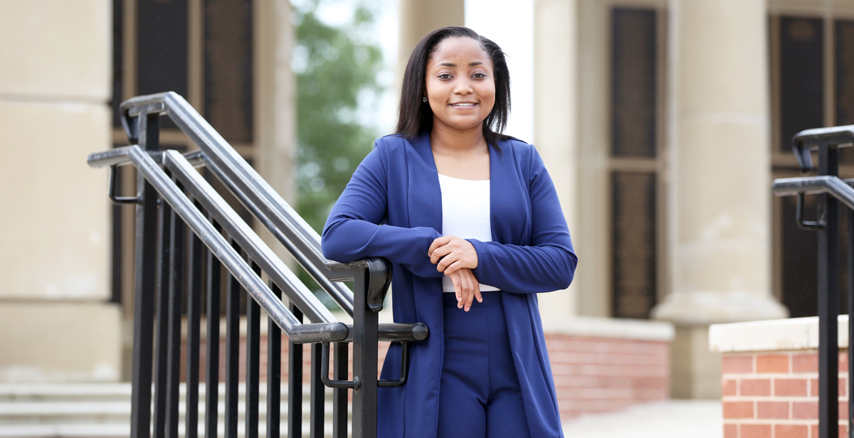 "Madison English, a freshman at the University of South Alabama, has been selected to receive a full scholarship called the 100 Black Men USA Scholars of Perseverance and Social Justice. English said a high school teacher inspired her to get involved. ""He told us that the world depends on our generation and we need to make our votes count,"" she said."