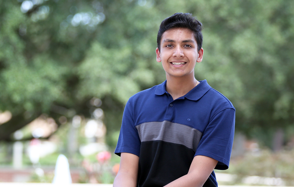 "Neil Chaudhary, named the 2020-21 University of South Alabama Board of Trustees Scholar, is a biomedical sciences student and plans to pursue a career in medicine.""I wasn't anticipating extra financial aid or anything, but I was definitely very happy and grateful,"" he said"