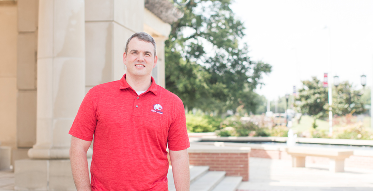 Dr. Neil Schwarz, an associate professor of exercise science, has three active externally funded, industry sponsored projects in which he is serving as the principal investigator.