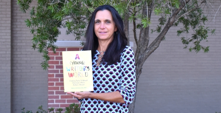 Dr. Rebecca Giles authors a book on teaching Pre-K students to become successful writers.
