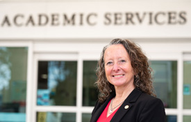 Dr. Nicole T. Carr , associate vice president of student academic success, will be recognized by the National Resource Center for her work as a first-year student advocate.