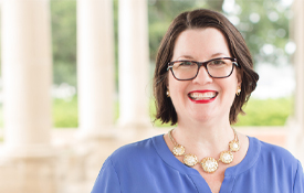 Dr. Peggy Delmas, an assistant professor in educational leadership spent two years researching the contributions of Catholic sisters in the field of academics, including science.