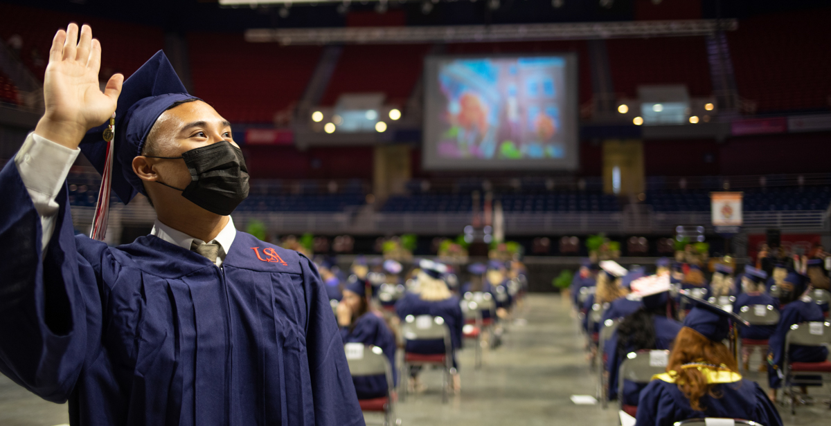 USA Spring Commencement Ceremonies