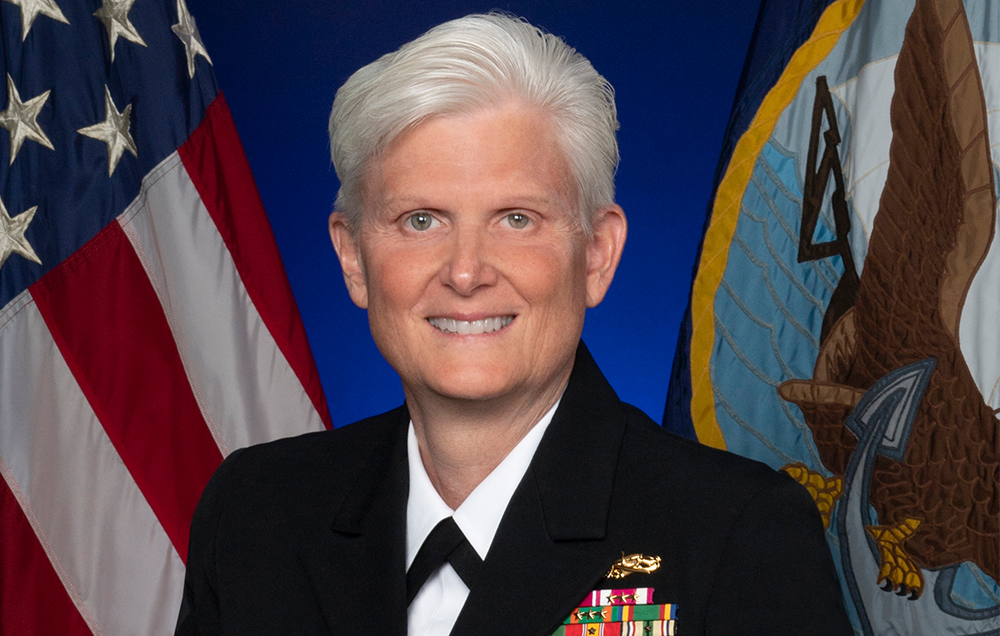 Navy Rear Admiral Gayle Shaffer, a 1987 biology graduate of the University of South Alabama, is the first dentist to serve as Deputy Surgeon General.