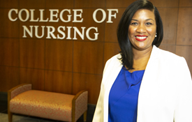 The College of Nursing EMPOWER Project Director, Dr. Shanda Scott, assistant professor and director of diversity, equity and inclusion was part of a a team that secured a $1.9 million grant from the Health Resources and Services Administration to support the advancement of diversity in the nursing field.