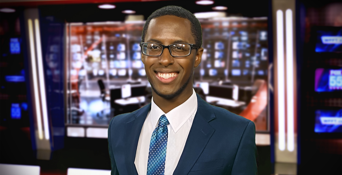 DeVonte' Dixon, a South meteorology graduate, took at job at Fox 55 News in Fort Wayne, Indiana, and will be an on-air weekend meteorologist.