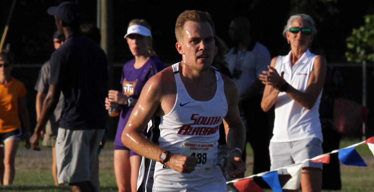 Nate Riech competed for the track and field team at the University of South Alabama in 2015-16. He will compete at the 2020 Summer Paralympic Games in Tokyo.