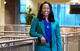 """FeAunte' Preyear has been promoted to Coordinator of Title IX in the division of Student Affairs at the University of South Alabama. She says her goal is, """"to create an environment that is welcoming, accessible, inclusive and free from discrimination."""""""