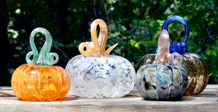 The pumpkin patch sales are scheduled for Friday, October 1, and Friday, October 22, from 8:00 a.m. to 4:00 p.m. at the Glass Art Building. Glass pumpkins will be priced between $15 to $100, and purchases can be made via cash, check or credit card.