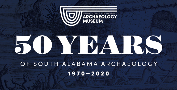 The new exhibit celebrating 50 years of archeology at South showcases a variety of artifacts year round from the Gulf Coast that covers more than 12,000 years of prehistory and history.