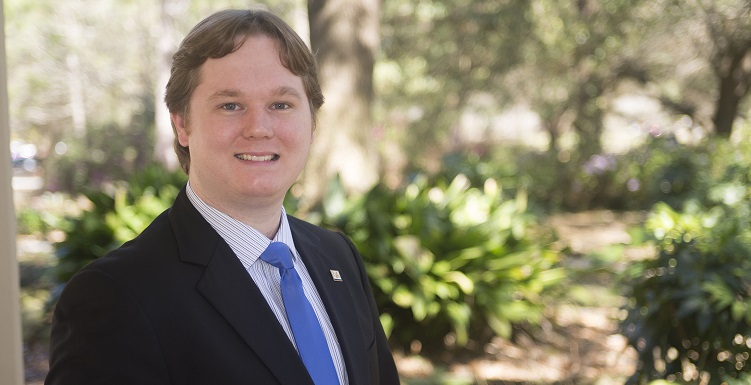 University of South Alabama graduate Chris Buchanan, '12, is among the members of a collaboration that reported on the first direct detection of gravitational waves.