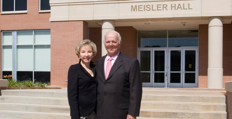 Fanny and Bert Meisler, longtime supporters of the University of South Alabama, announced a gift to establish an endowment to enhance Jewish Studies at USA.
