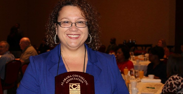 Leslie Weaver-Martin is a University of South Alabama alumna and a licensed professional counselor.