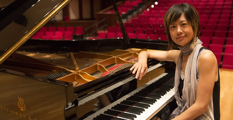 "Dr. Jasmin Arakawa will present her faculty piano recital, ""Romantic Journey,"" on Sept. 21. data-lightbox='featured'"