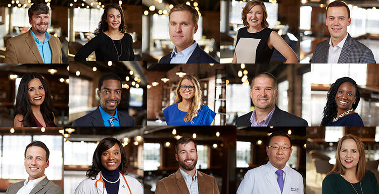 Fifteen members of the University of South Alabama community were selected by Mobile Bay Magazine to its annual 40 Under 40 list of people who demonstrate leadership, professional excellence and a commitment to the local community.
