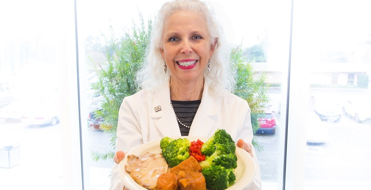 "USA Mitchell Cancer Institute Dietitian Nancy Brumfield suggests choosing foods in their most natural forms. The more ""convenience"" that has been added to an item, she says, the more likely that food is to contain salt, sugar and preservatives."