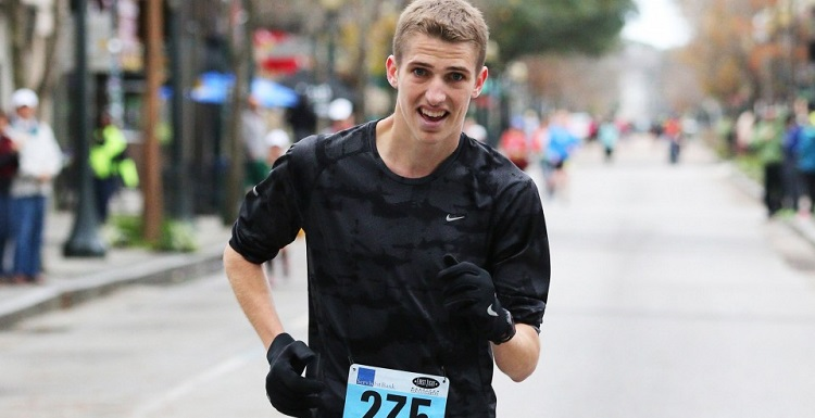 Engineering student and marathon winner Cody Parker said his favorite place to run on campus is on the Glenn Sebastian Nature Trail. Photo courtesy of Alabama Media Group.