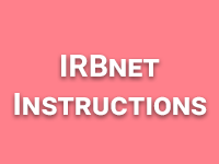 IRBnet Instructions