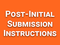 Post-Initial Submissions Instructions