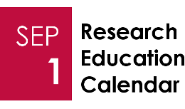 Research Education Calendar