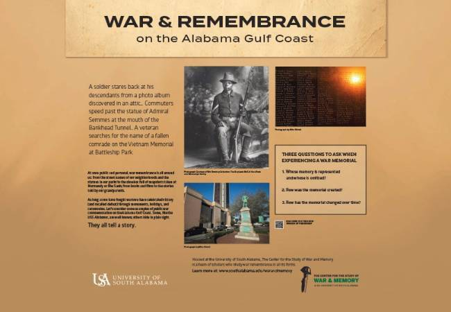 War & Remembrance Exhibit Tour Continues to West Regional Branch of the Mobile Public Library