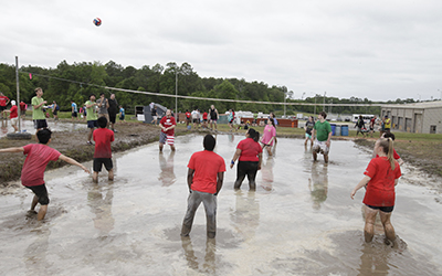 Oozeball Mud Volleyball Tournament
