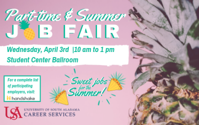 Part-Time &  Summer Job Fair