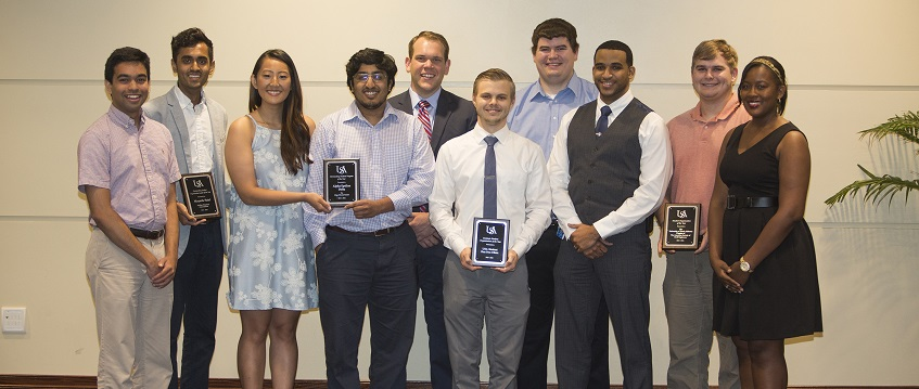 2016 Student Organization Award Winners