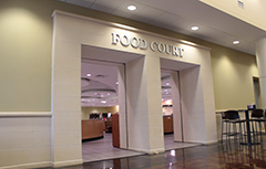 Front of Food Court