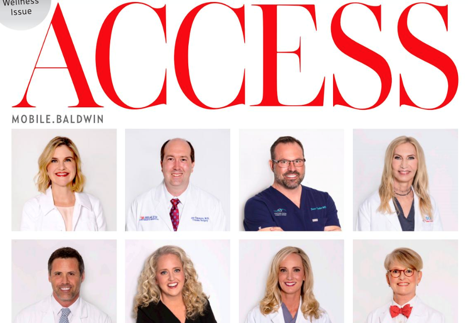 Two physicians from USA Health were among those highlighted in the magazine's Top Doctors issue in April.