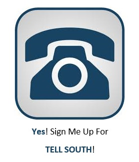 TELL SOUTH Logo