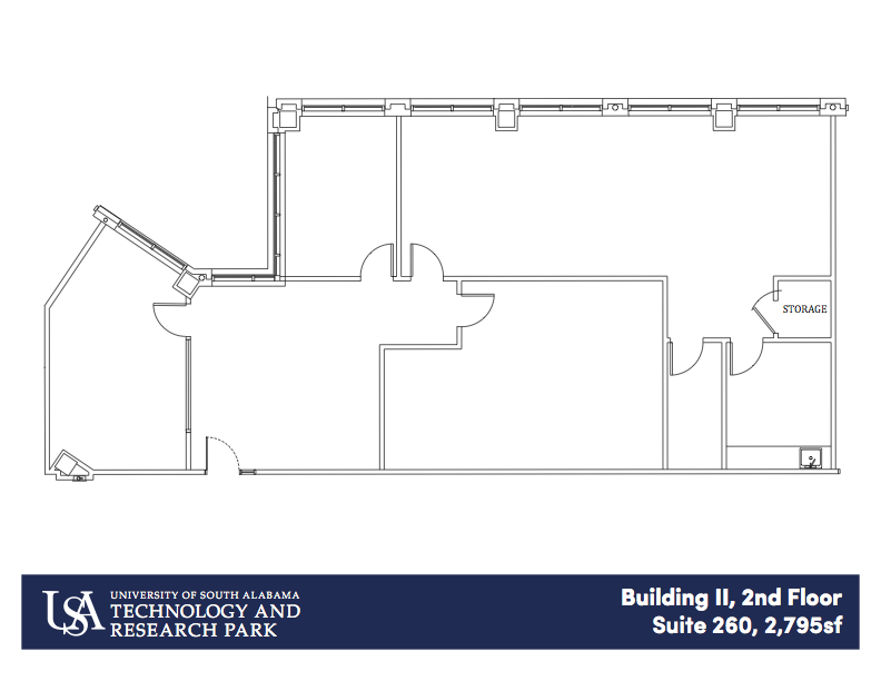 Building II, 1st Floor Suite 260 2,795 sf
