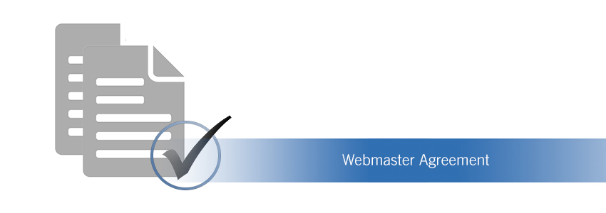 Webmaster Agreement