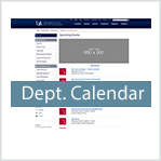 Departmental Calendar Template