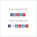 Social Media Icons and Links