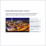 YouTube Video Controls Viewer - Version 2