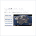 YouTube Video Controls Viewer - Version 1