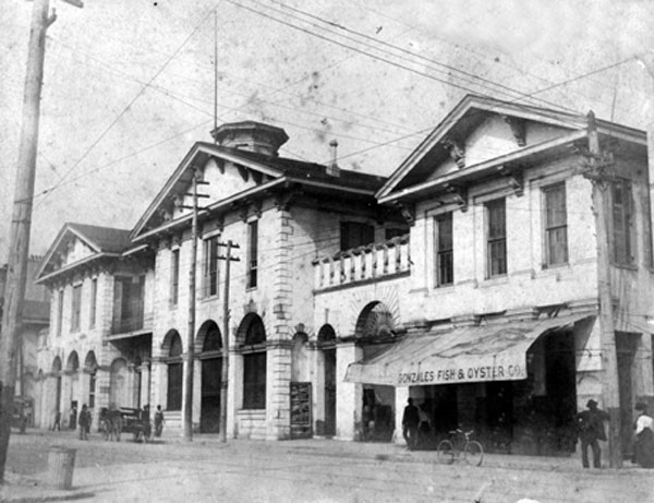 Old city hall/Southern Market about 1880.