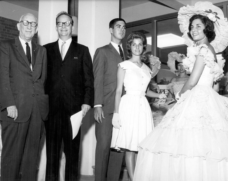 This group poses at the dedication and open house for the University of South Alabama in June 1964.