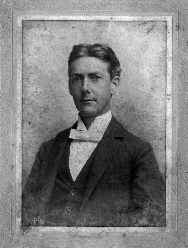 This photo of John T. Cochrane was in taken in October 1896, while he was a student at the University of Alabama.