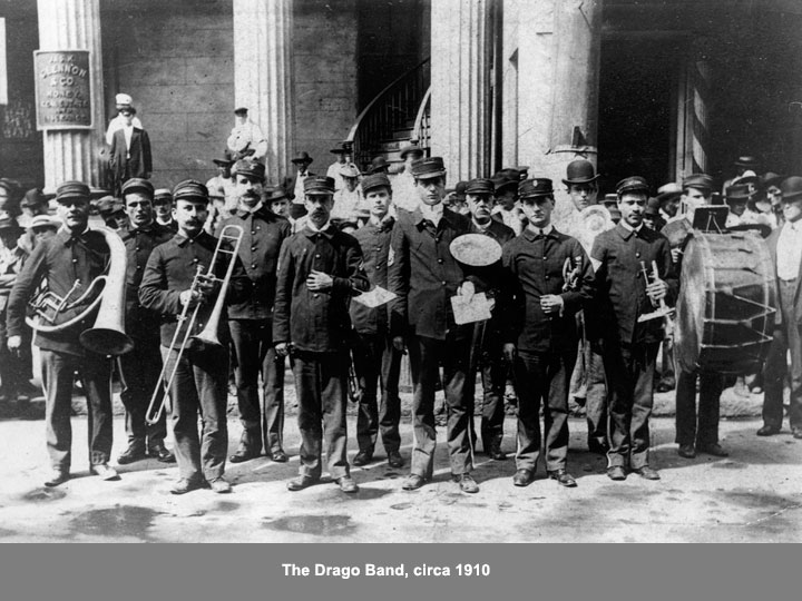 The Drago Band was one of Mobile, Alabama's, most beloved institutions.