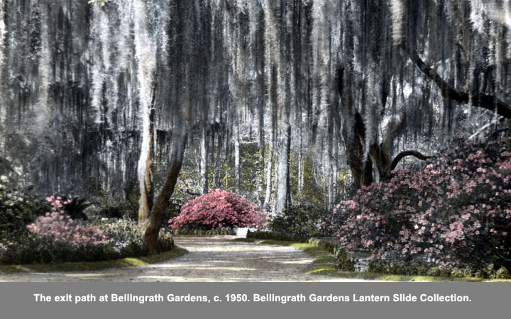 exit path at Bellingrath Gardens