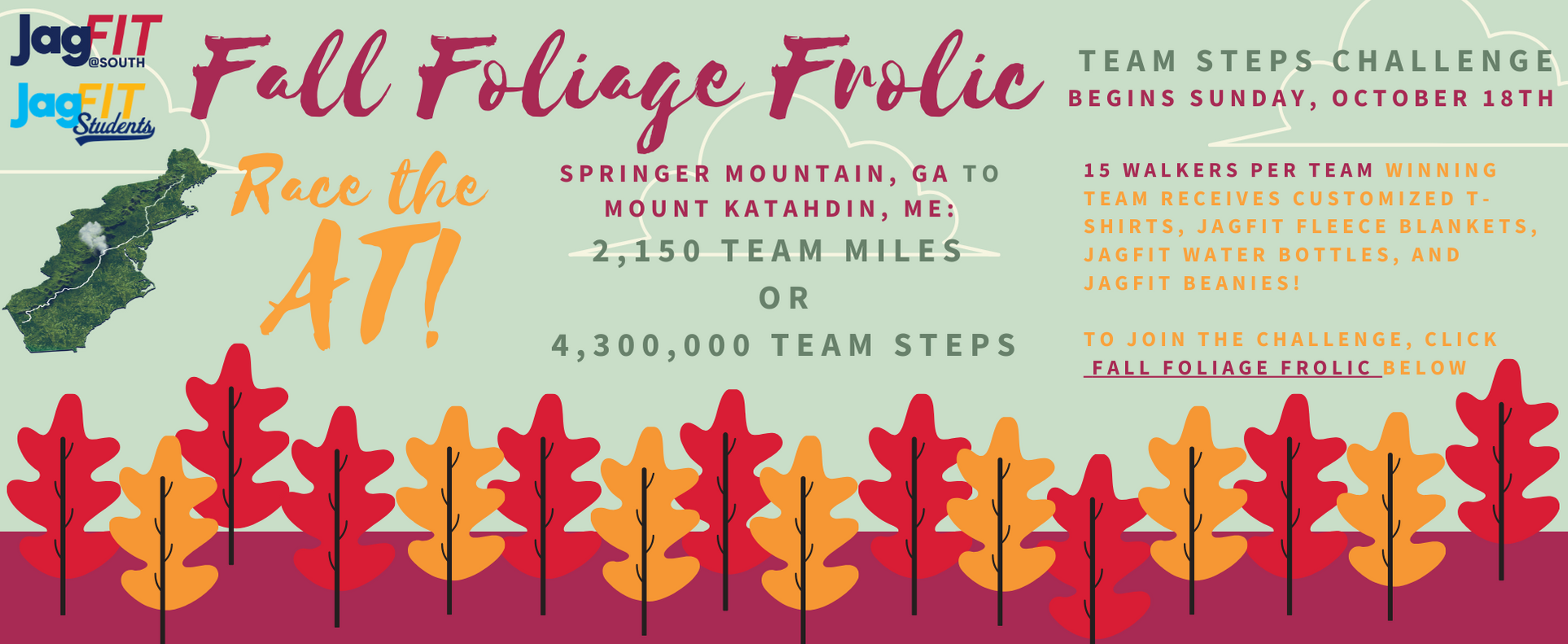 Fall Foliage Frolic Contest Information read below.